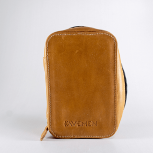 leather case kavemen tan