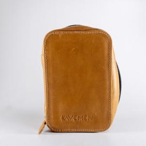 leather case kavemen tan